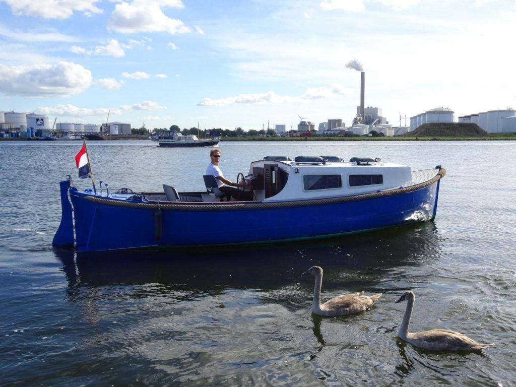 Sloep Gijs Noordzeekanaal
