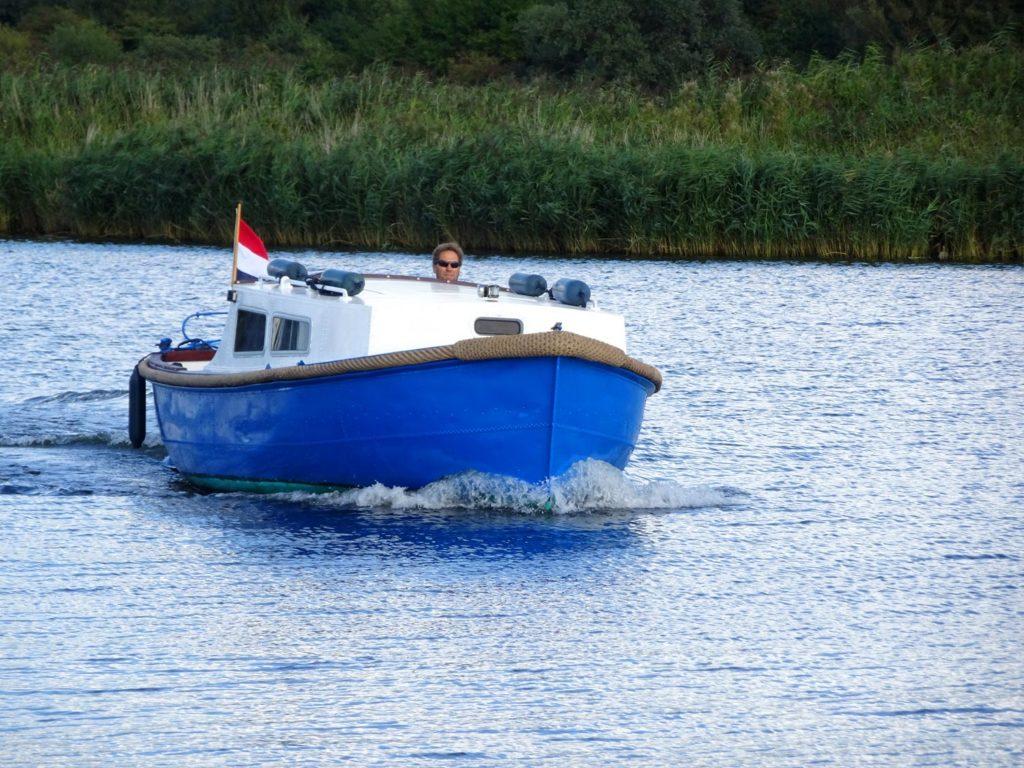 Sloep Gijs cruising